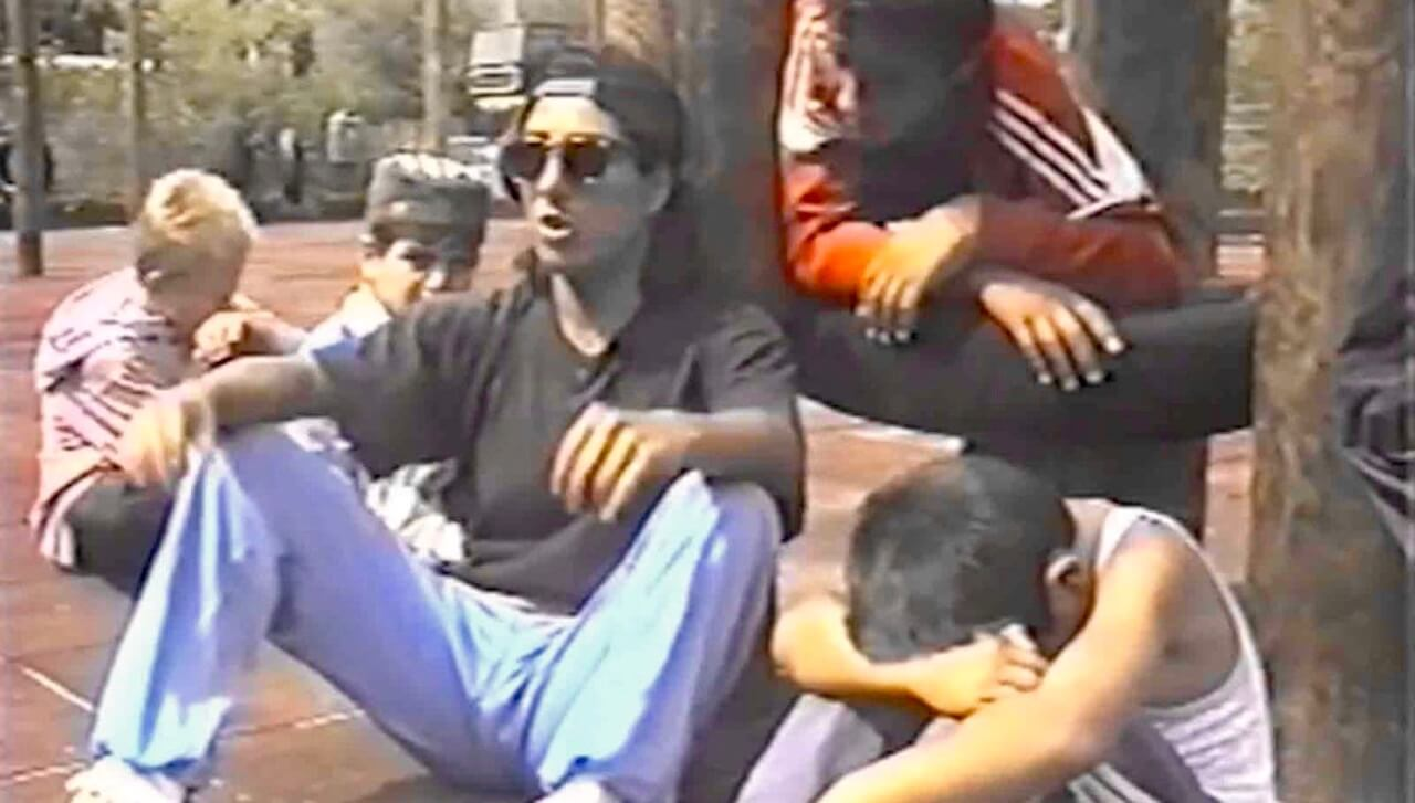 Berliner Hip-Hop-Szene von 1992