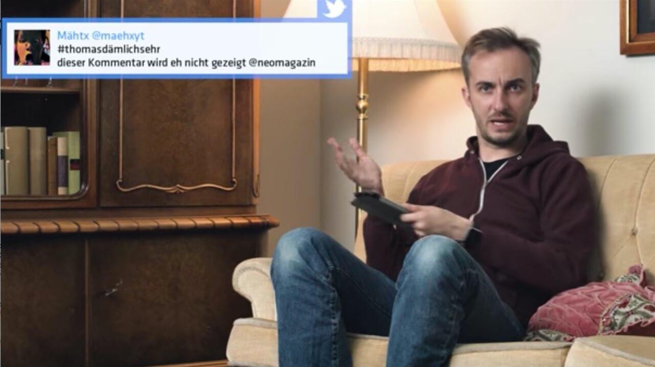 """Hurensöhne Mannheims"" - Böhmi resümiert | Neo Magazine Royale"