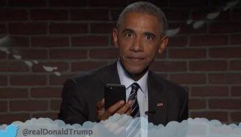 Obama liest 'mean tweets'
