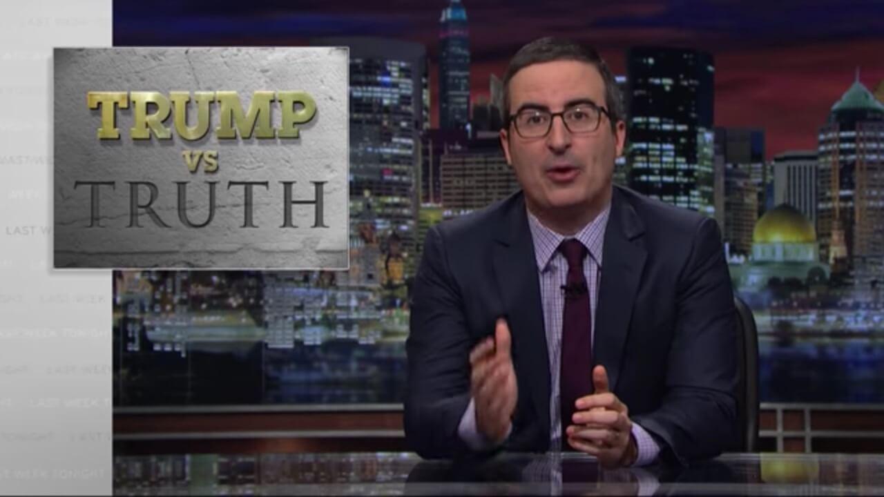 Trump vs. Truth: Last Week Tonight with John Oliver