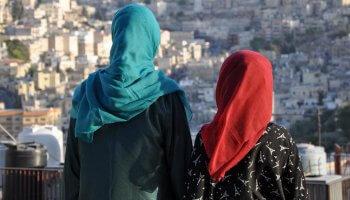 Frauen auf der Flucht