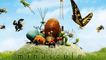 Klein aber oho - die animierten Insekten von Minuscule leben in einer Miniaturwelt voller Abenteuer. Dabei krabbeln sie durch eine real gefilmte Kulisse.
