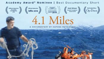 4.1 Miles begleitet einen Kapitän bei der Rettung von Flüchtlingsbooten