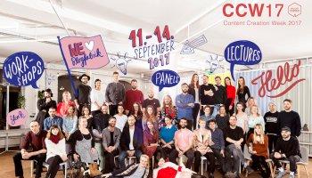 wir organisieren eine Woche voller Workshop, Lightning Talks, Panel-Diskussionen - die Content Creation Week.
