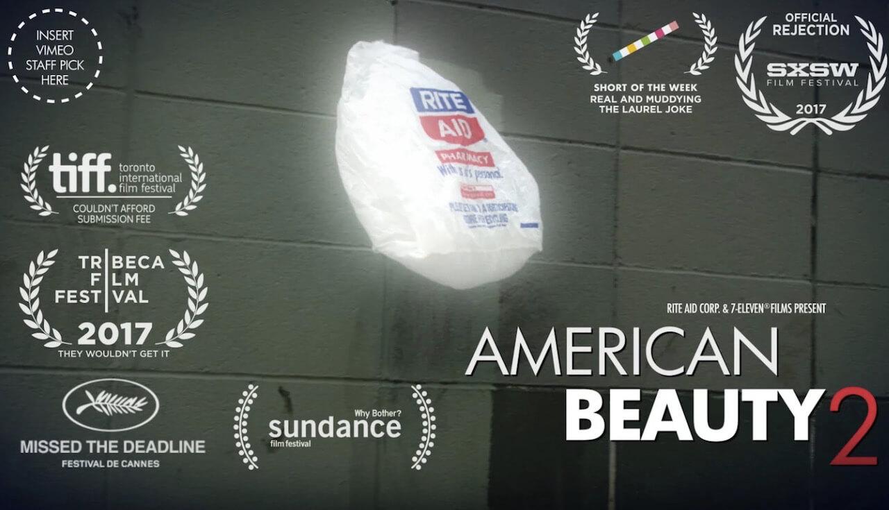 American Beauty 2: Die Rückkehr der Plastiktüte im WInd