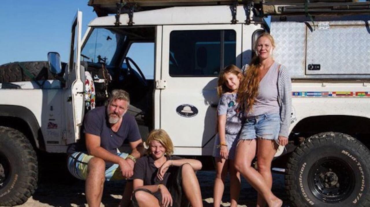 Unterwegs zu Hause – eine Familie auf Roadtrip