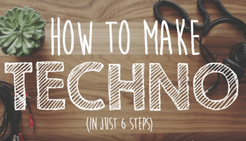 Der How to make Techno clip persifliert die DIY Videos der einschlägigen Food Blogs