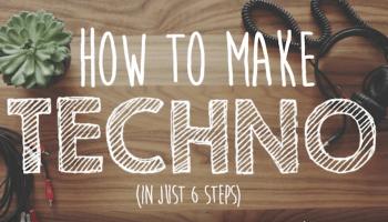 Der How to make Techno clip persifliert die DIY Videos der einschlägigen Food Blogs
