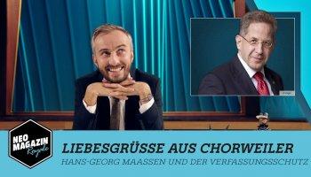 Jan Böhmermann macht Tabula rasa mit Hans Georg Maaßen