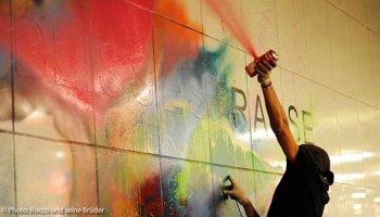Berliner Urban Art-Kollektiv Rocco und seine Brüder