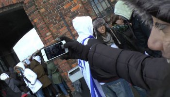 Israelische Schüler in Polen in #Uploading Holocaust