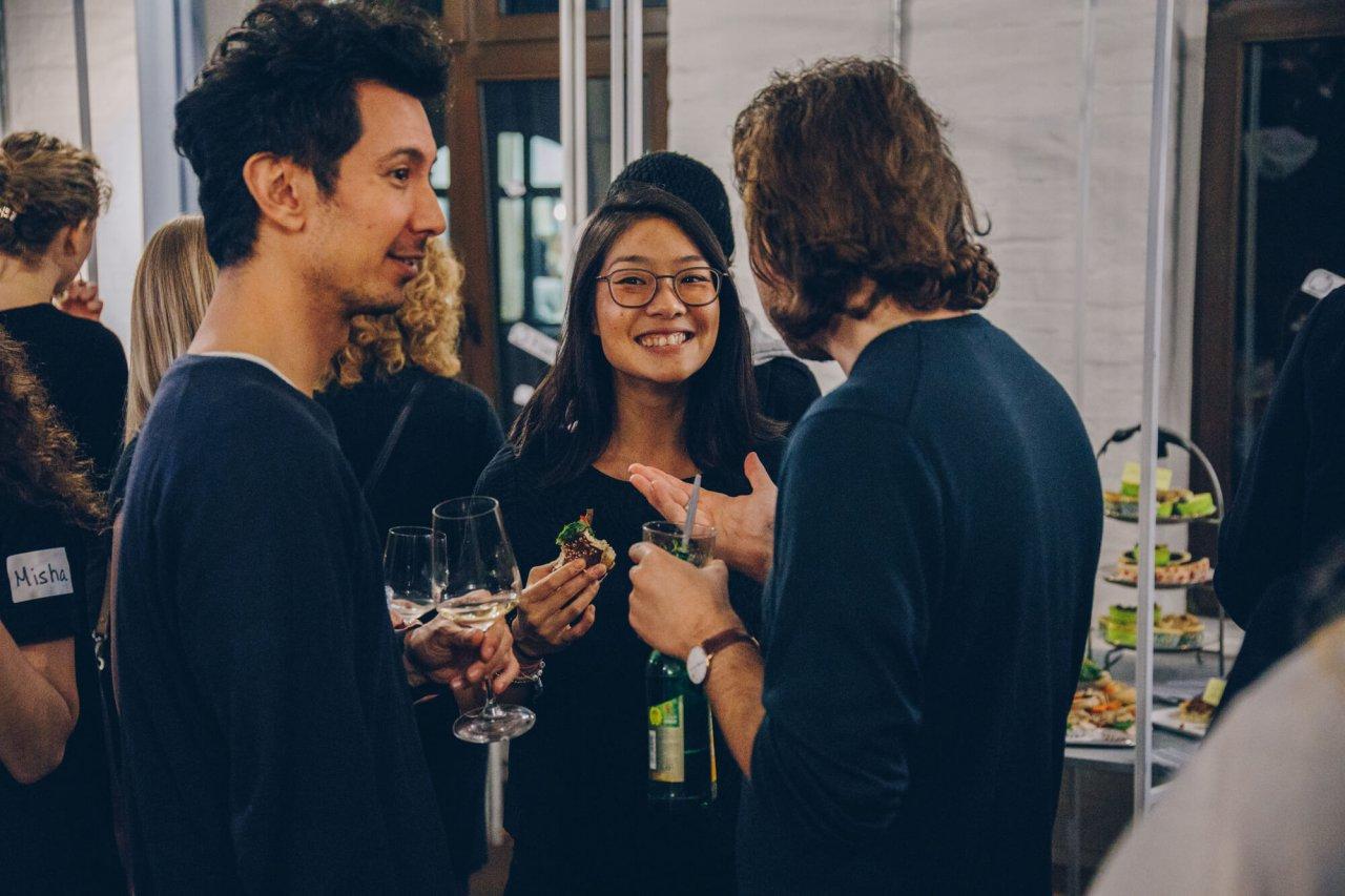 Gäste der Flattr 2.0 Launch Party