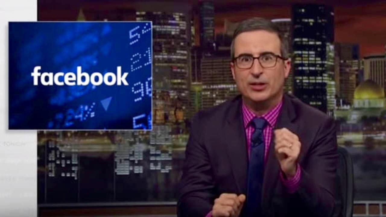 Facebook Werbespot von John Oliver