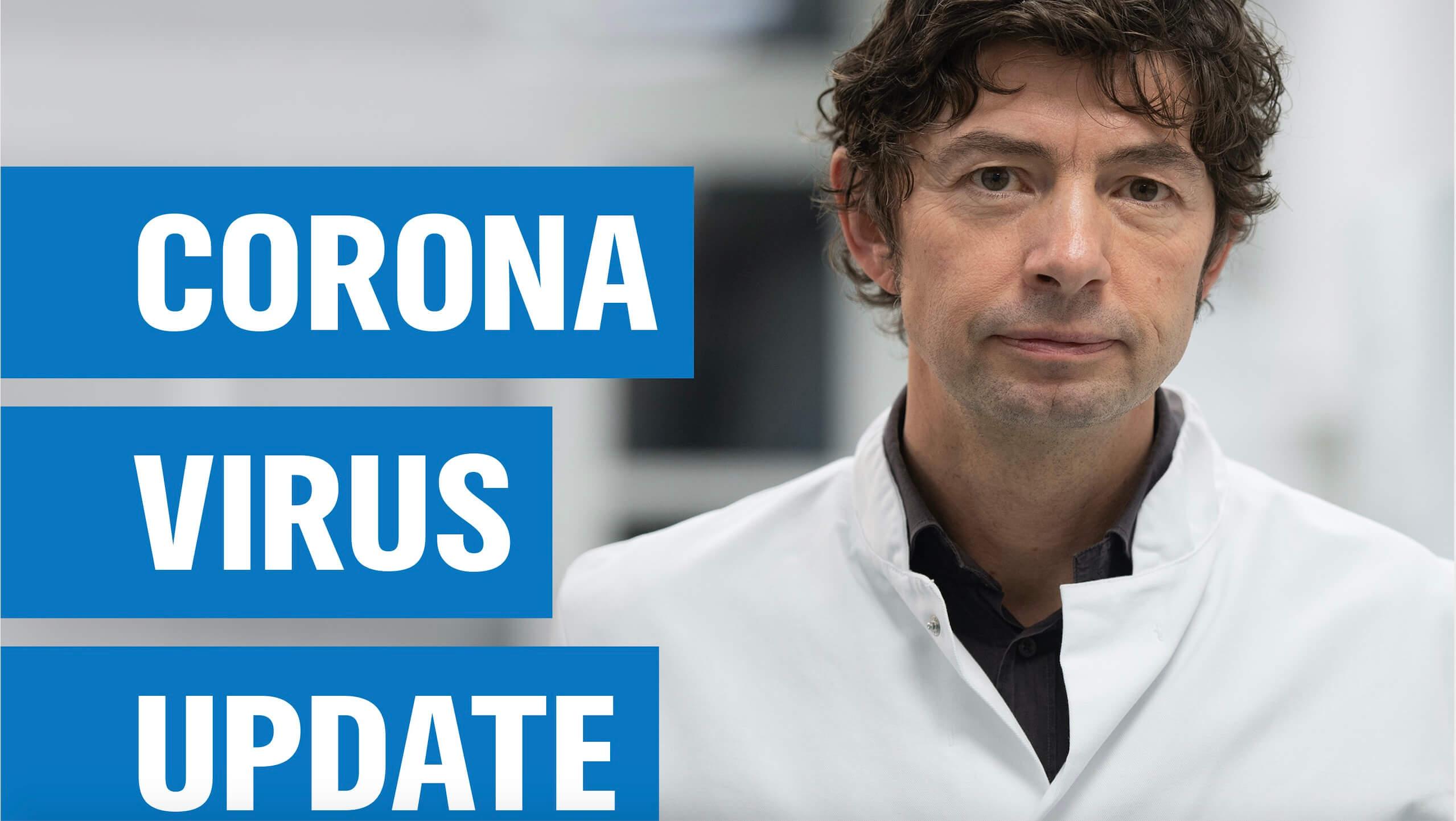 Der Corona Podcast mit dem Virologen Prof. Drosten