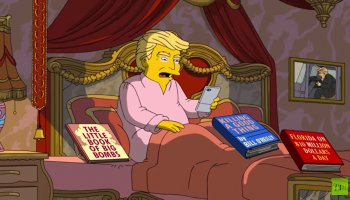 Donald Trump's First 100 Days In Office | THE SIMPSONS