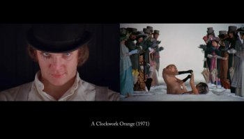 First and Final Frames in a Film