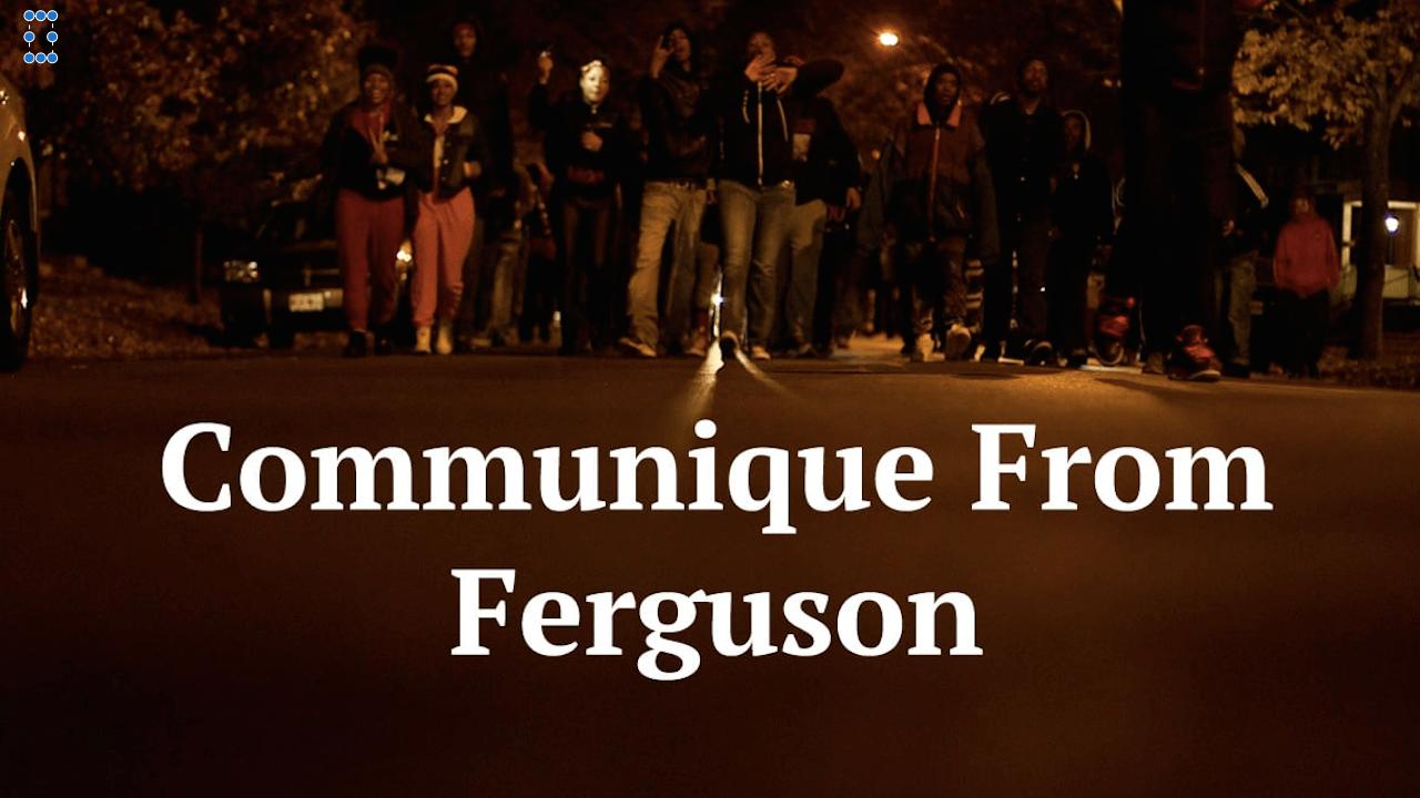 Der Kurzfilm zeigt Aktivisten, die gegen das rassistische Polizei-System in den USA protestieren und dabei nicht nur in Ferguson viel Unterstützung finden.