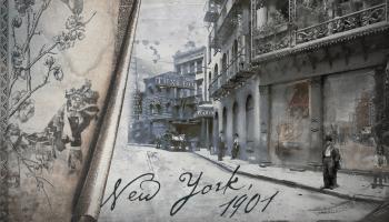 """""""The Old New World"""" nimmt uns mit auf eine Zeitreise ins Amerika des frühen 20. Jahrhunderts und erweckt Fahrzeuge, Tiere und Menschen zum Leben."""