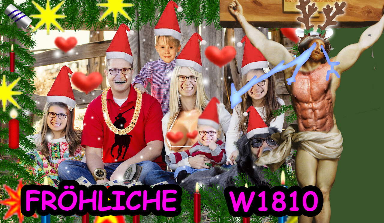 Photoshop Philipp wünscht Frohe W1810