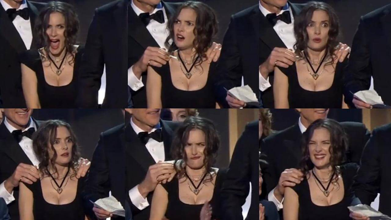 Winona Ryder Gesichtsausdruecke