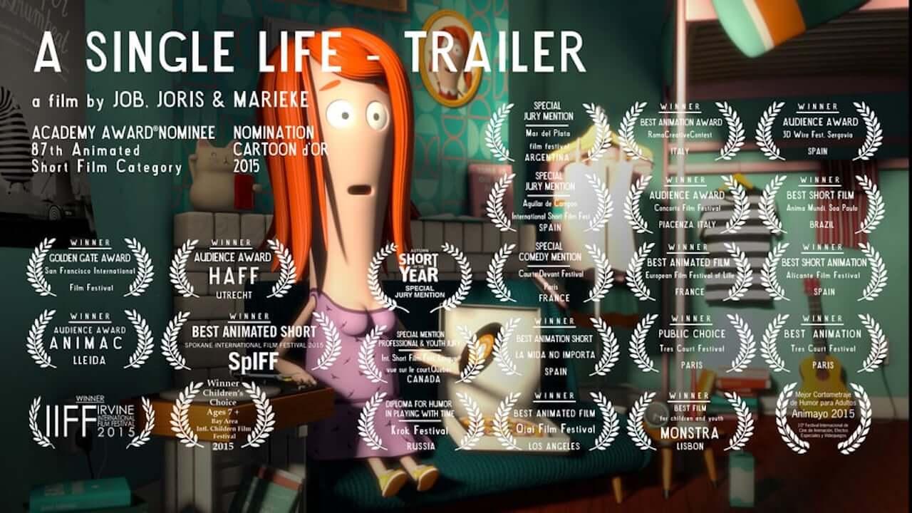 A Single Life – oscarnominierter Kurzfilm über eine ungewöhnliche Zeitmaschine