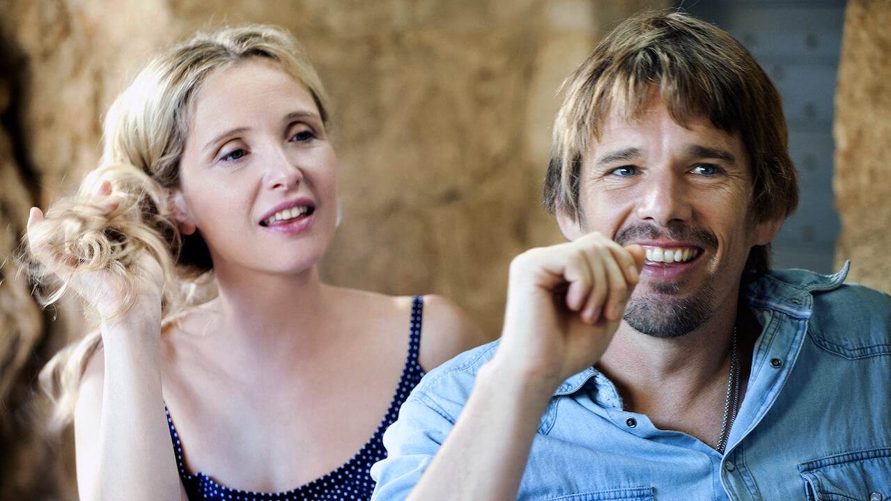 "Celine und Jesse in ""Before Midnight"""