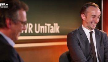 Letzten Freitag war Jan Böhmermann im UniTalk auf dem Campus in Mainz und sprach über Medien, Politik, Satire, Welt