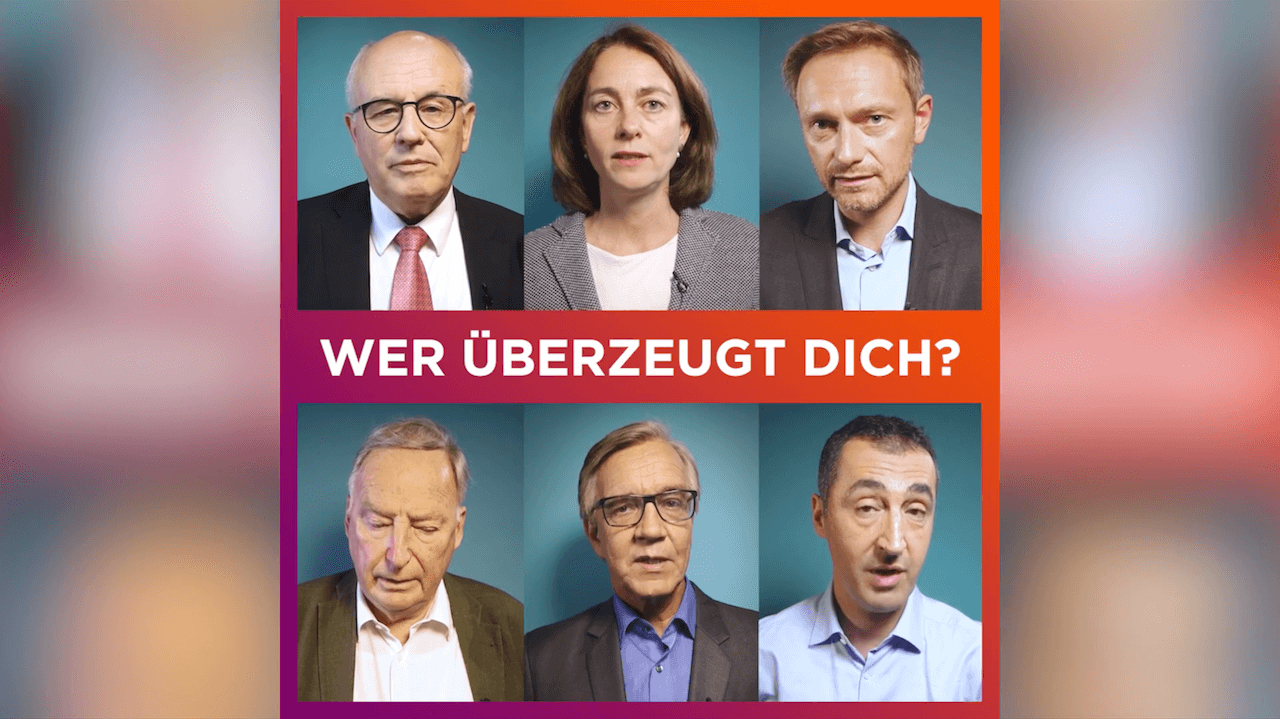 Wisst ihr schon, wen ihr bei der Bundestagswahl 2017 am Sonntag wählt? Hier werden Politiker zu Themen befragt, die uns wichtig sind.