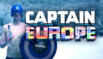 PistolShrimps haben alle möglichen Länder-Klischees in einen Topf geworfen, um den perfekten 'Captain Europe' zu finden