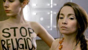 Der Jungfrauenwahn zeigt Aktivistinnen, die sich gegen die Unterdrückung der Frauen engagieren