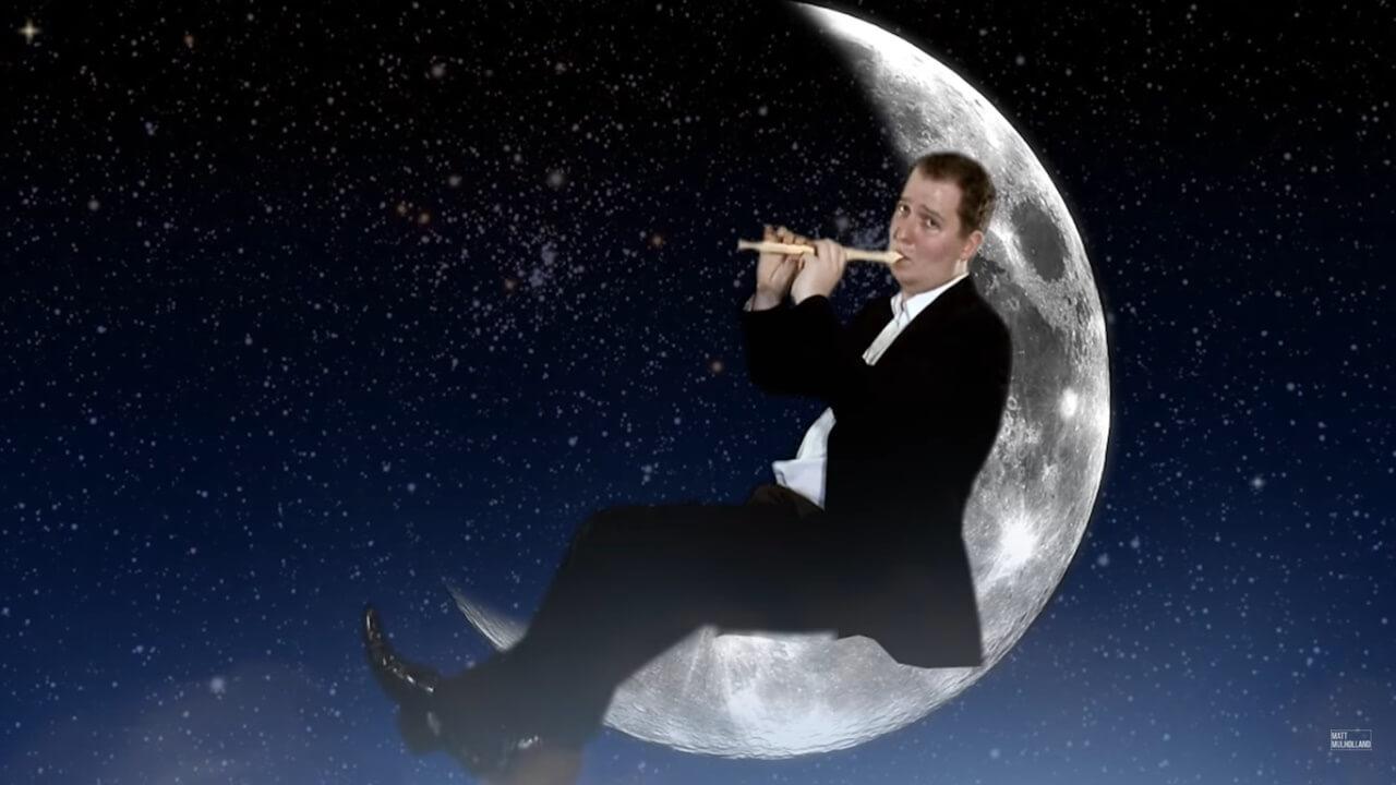 Flötenspiel