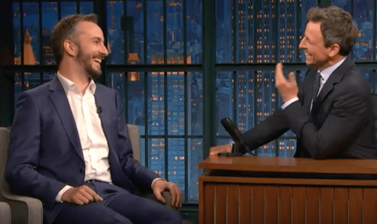 Jan Böhmermann zu Gast in US-Late-Night-Show Seth Meyers