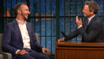 Jan Böhmermann zu Gast in US-Late-Night-Show Seth Meyers