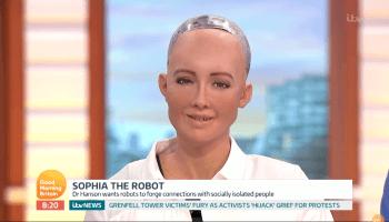 Sophia ist der erste Roboter mit Staatsbürgerschaft