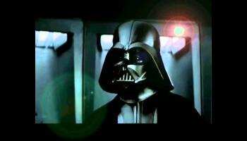 Darth Vader und Co. diskutieren in bestem Schwäbisch über virales Marketing, als ob sie in der Vorstandsetage der Daimler AG sitzen würden: