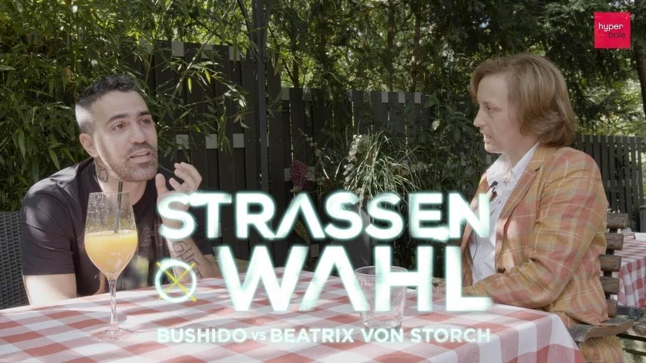 Straßenwahl – Bushido und Beatrix von Storch im Interview