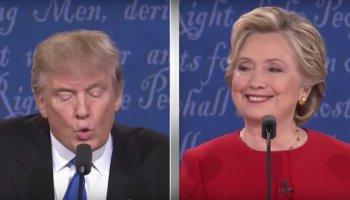 A Bad Lip Reading zwischen Trump und Clinton