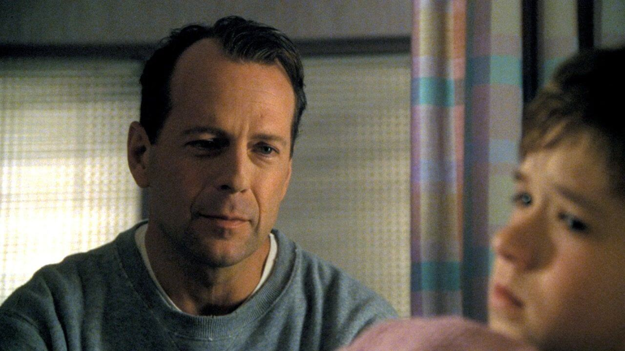 Bruce Willis und Haley Joel Osment in The Sixth Sense